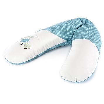 Theraline Stillkissen Komfort 180 cm Jersey Blau Mikroperlen NEU Fachhändler