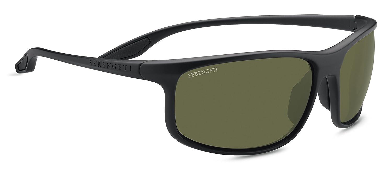 SERENGETI 8616 Gafas, Unisex Adulto, Negro (Satin Black), L