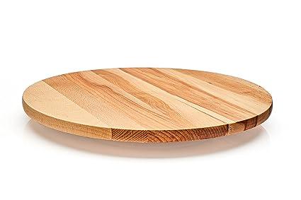 Lazy Susan – Bandeja giratoria de madera. Madera de haya maciza.