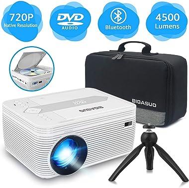 BIGASUO Mini Projector PRO302