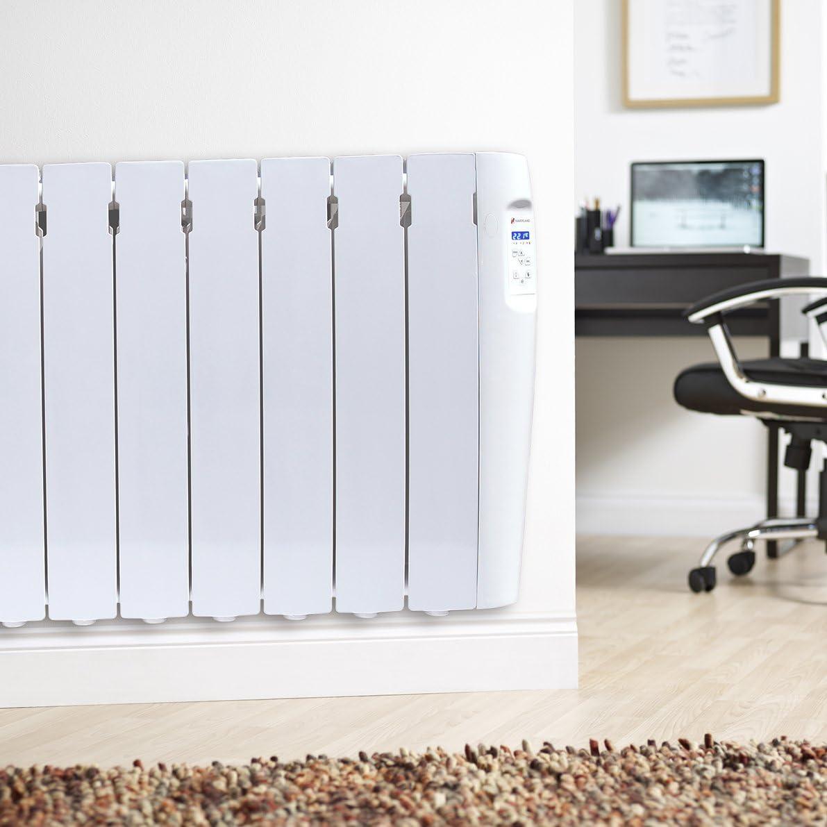 Programable Radiador Digital Fluido Bajo Consumo Pantalla Temperatura Ambiente Haverland RC12M 1500 de Potencia 12 Elementos Exclusivo Indicador De Consumo