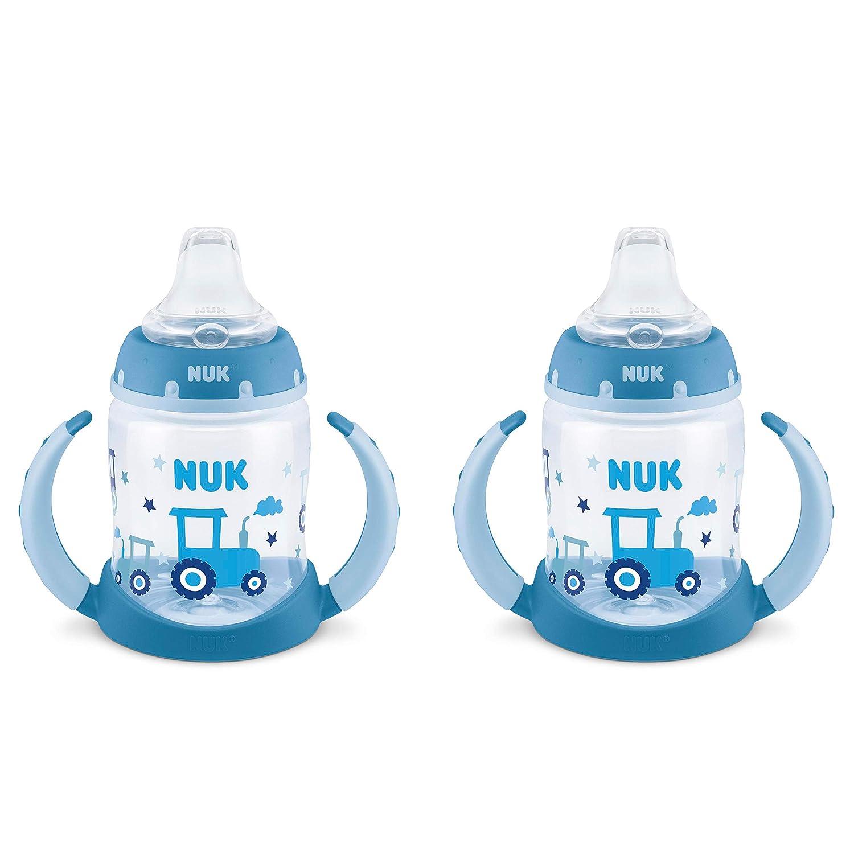 NUK Learner Cup, 5oz, 2-Pack, Tractors