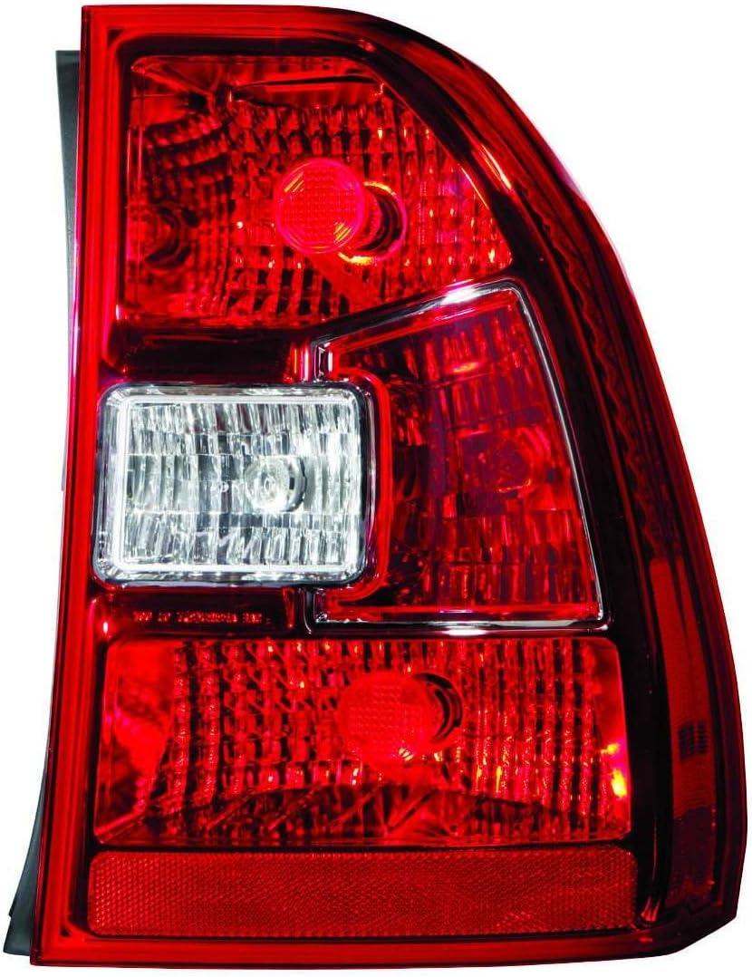 100W Halogen -Chrome Passenger Side with Install Kit 6 inch 2008 Sterling L//LT 7500 SERIES Post Mount Spotlight