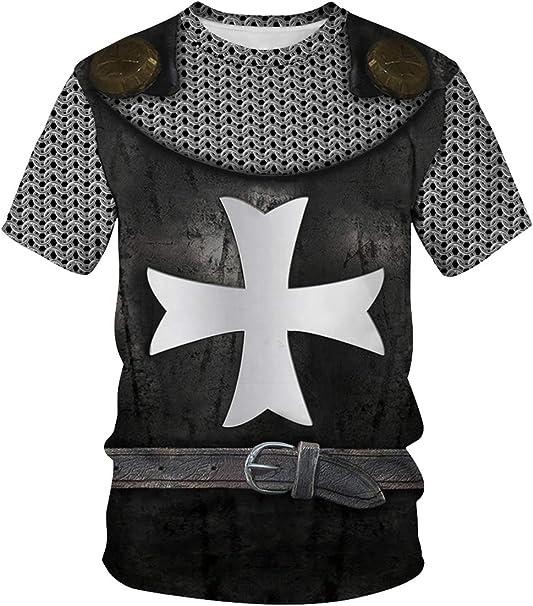 cultofmoon Disfraz Medieval de Caballeros templarios Cruzados ...