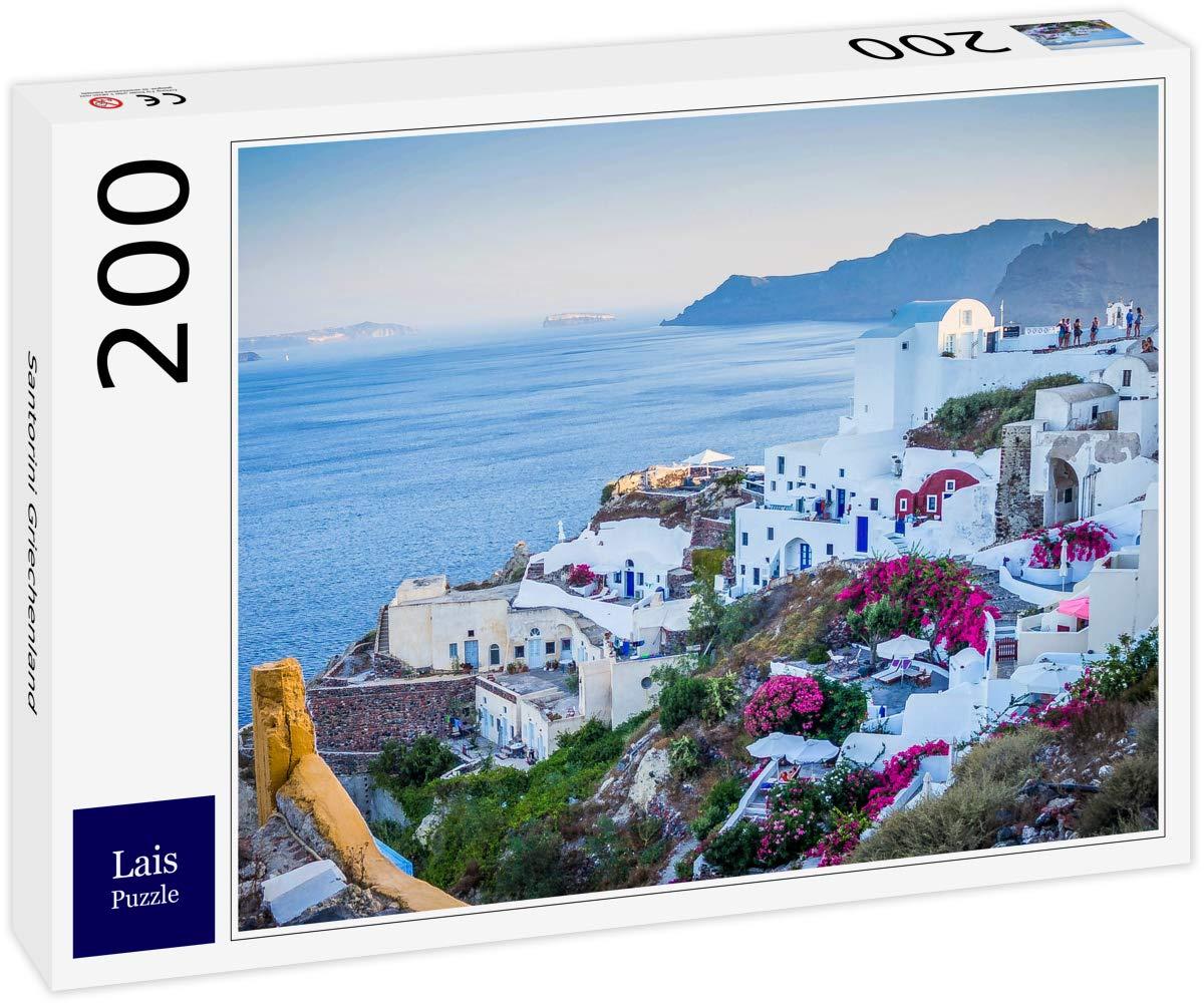 Lais Puzzle Santorini Grecia 200 Piezas: Amazon.es: Juguetes y juegos