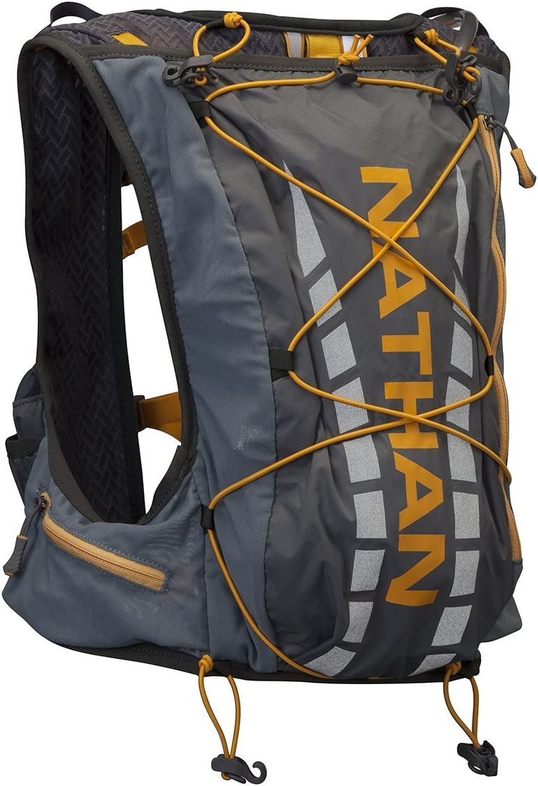 Nathan Vapor Air 7L Hydration Race Vest Nathan Grey, XS