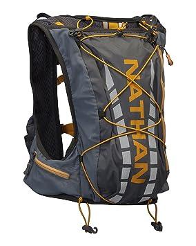 Nathan Vapour Air - Mochila tipo chaleco de hidratación para running, color gris: Amazon.es: Deportes y aire libre