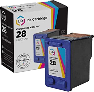 LD Remanufactured Ink Cartridge Replacement for HP 28 C8728AN (Color)