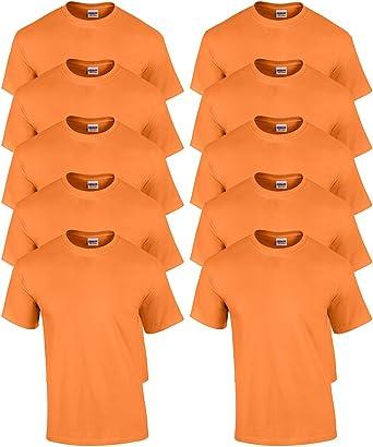 Gildan Mens Taped Neck Preshrunk Jersey T-Shirt