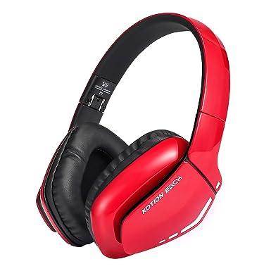 KOTION CADA b3506 auriculares Bluetooth inalámbrico plegable auriculares para juegos con micrófono LED V4.1