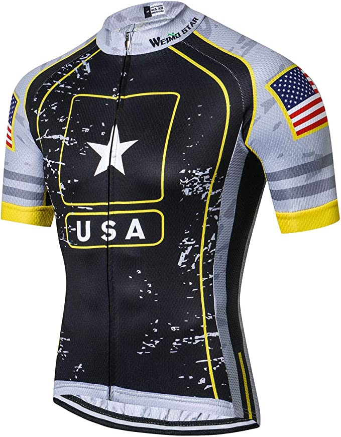 JpoJpo Pro Full Zipper Men's Cycling Jersey