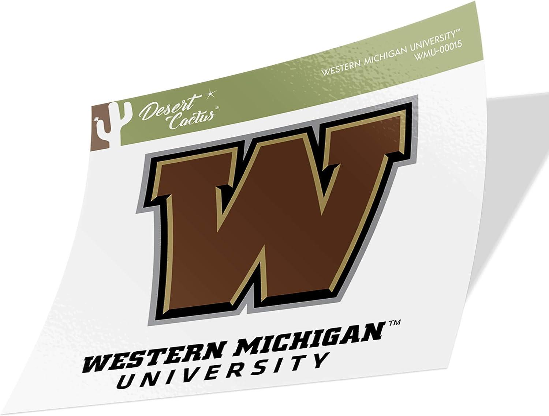 Western Michigan University WMU Broncos NCAA Vinyl Decal Laptop Water Bottle Car Scrapbook (Sticker - 00015)
