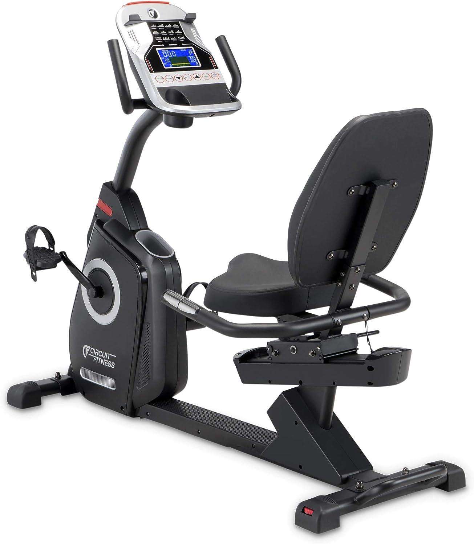 CIRCUIT FITNESS Circuit Fitness Magnetic Recumbent Exercise Bike