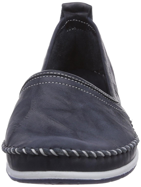 Andrea Conti 0027422017 Damen Slipper 017) Blau (Dunkelblau 017) Slipper 4129f3