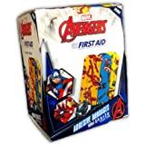 "Marvel Avengers Bandages 100CT, 3/4""x3"" (Ironman, Captain America, Black Panther)"