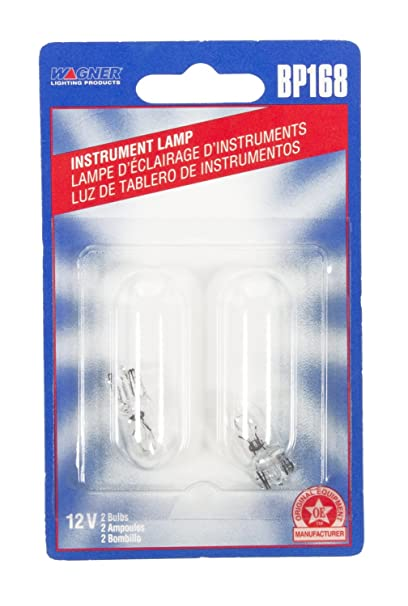Wagner Lighting BP168 Miniature Bulb - Card of 2