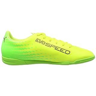 Puma Herren Buty Evo Speed 17.5 IT 104027 03 Fußballschuhe, Gelb (Ultra Yellow-Peacoat-Orange Clown Fish 03), 46 EU