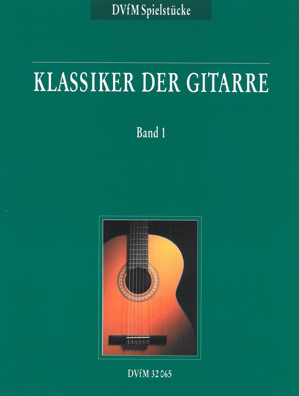 Klassiker der Gitarre Band 1 (DV 32065)