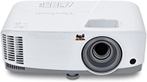 ViewSonic PG603X 3600 Lumens XGA Networkable Home and Office Projector with HDMI and USB, White