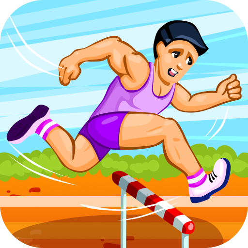 Hurdle Run Pro (Sexy Kids Games)