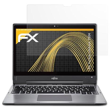 HD-Entspiegelung FX Folie atFolix Schutzfolie kompatibel mit Dell Latitude 7400 Displayschutzfolie 2X