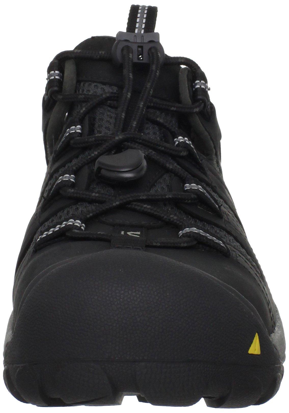 KEEN Utility Men's Atlanta Cool Steel Toe Work Shoe,Black,9.5 EE US by KEEN Utility (Image #4)