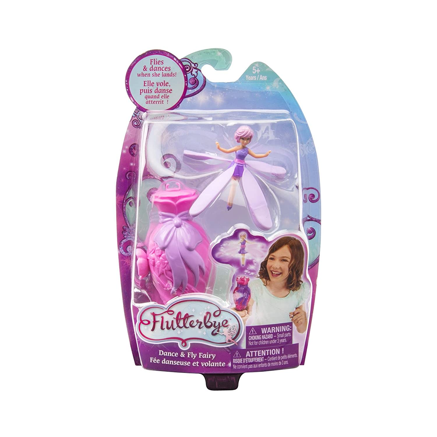 Amazon Flutterbye Fairies Dance And Fly Lilac Toys Games
