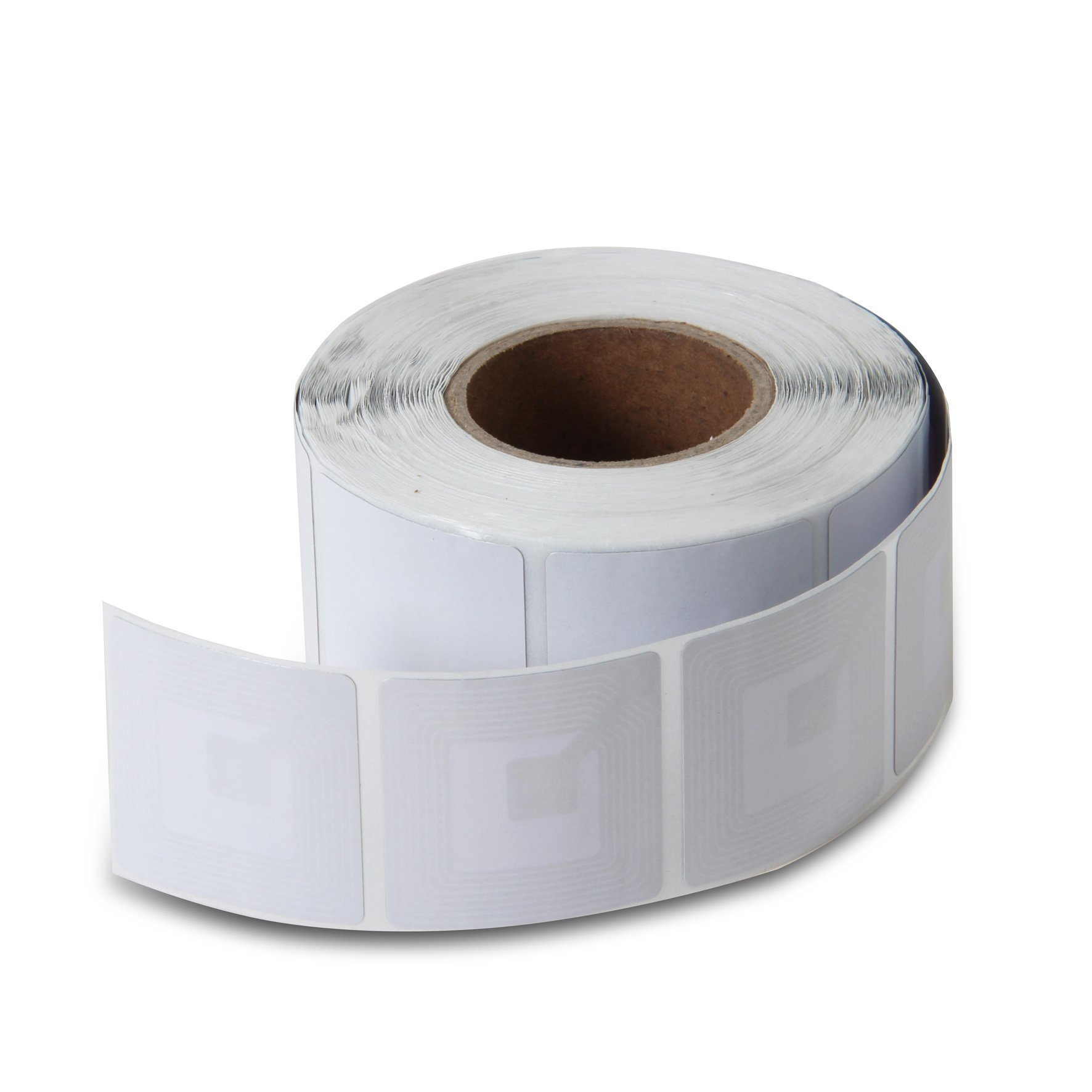 10000 Paper Security Labels 1.5X1.5 Inch Rf 8.2Mhz White Checkpoint Compatible Eas Loss Prevention by Sensornation (Image #6)