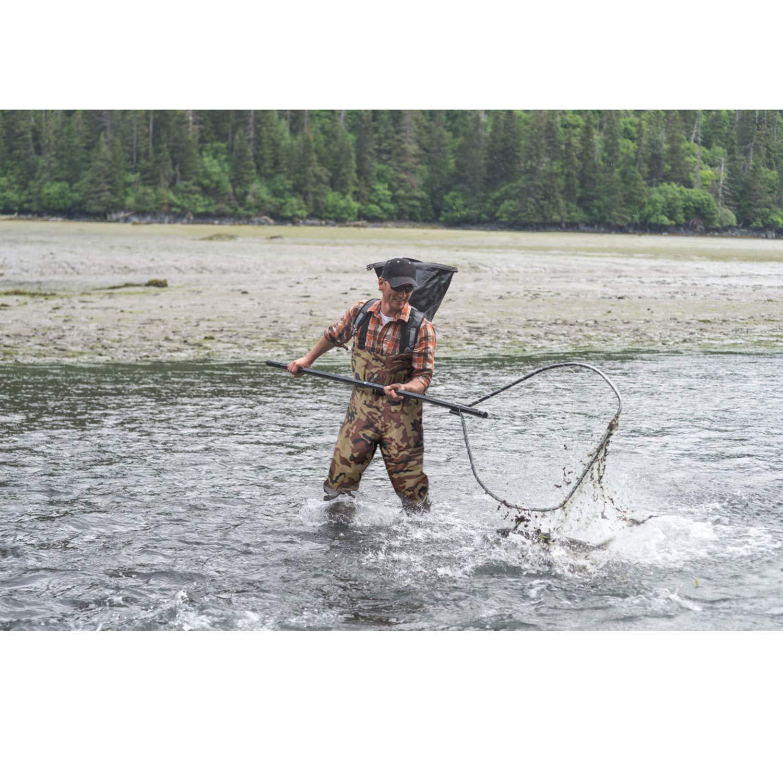 Pellor Herren Anglerhose, Nylon Wasserdichtes Wasserdichtes Nylon Atmungsaktives Wathosen Fischerhose Angler Adult 2bc67b