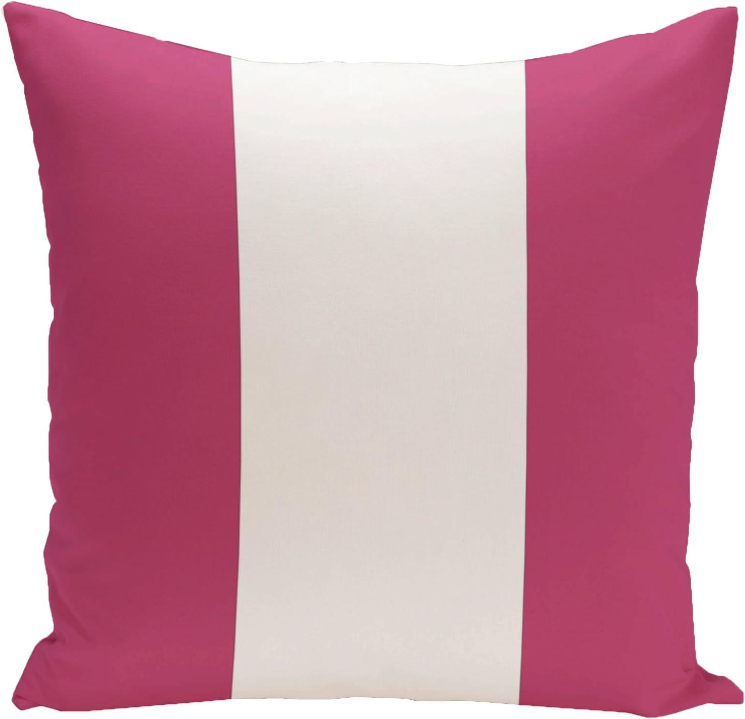 E by design Decorative Pillow Dazzling Blue