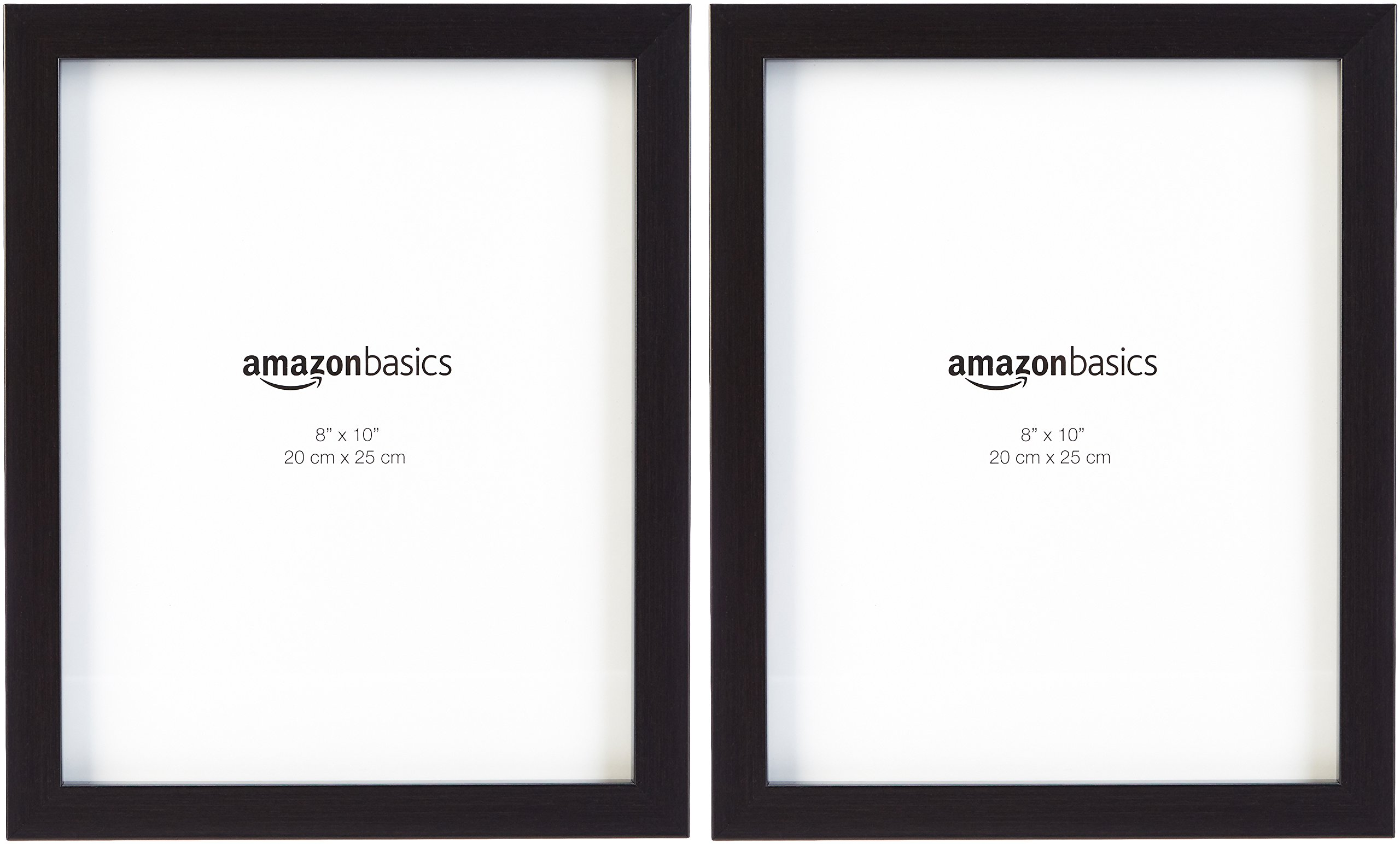 AmazonBasics Photo Picture Frame - 8'' x 10'', Black, 2-Pack by AmazonBasics (Image #3)