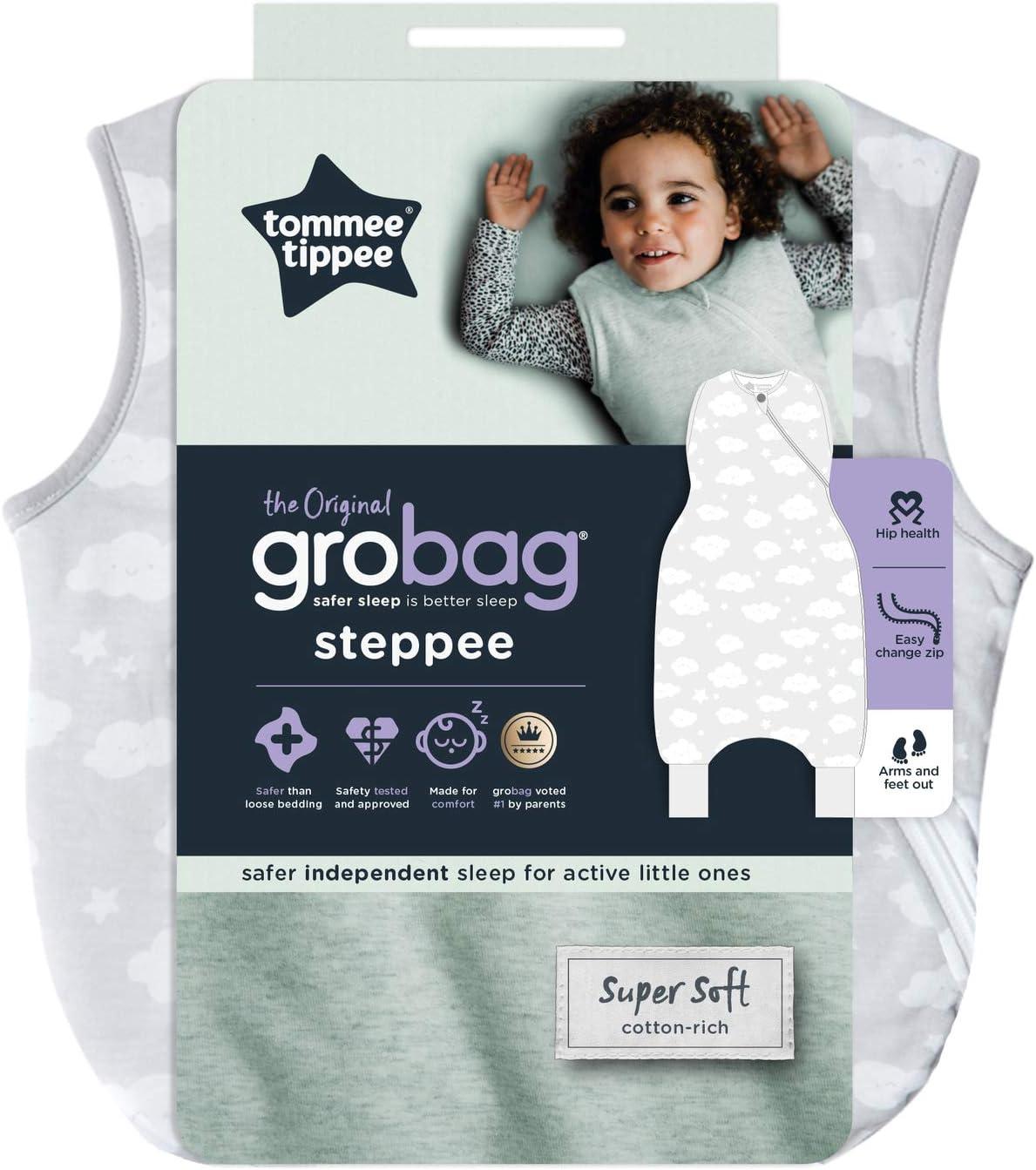 6 a 18 meses, 1 tog, 24 g Tommee Tippee The Original Grobag Steppee Mono de beb/é