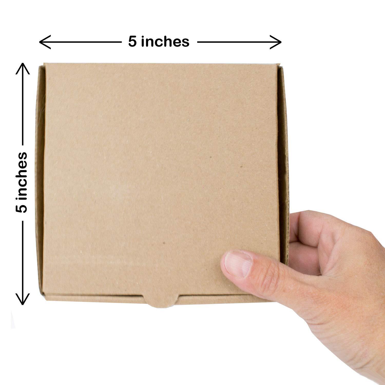 Mini cajas de pizza Kraft de 12,7 cm (8 unidades) – Marca Chica y ...