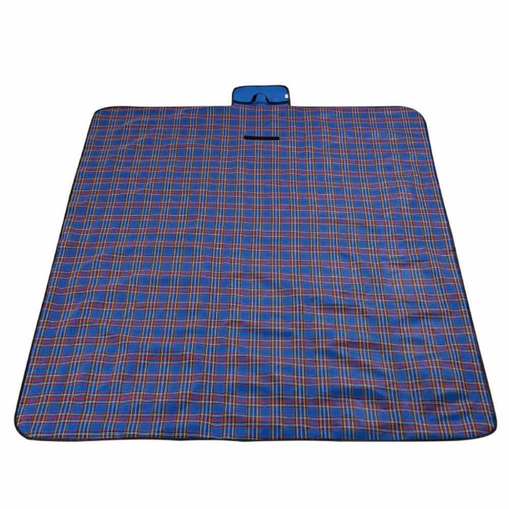Kaxima Camping PIC-nic Coperta Impermeabile 145x200cm Plaid Tessuto Oxford Picnic all'aperto Mat Mat Mat umidità Campeggio