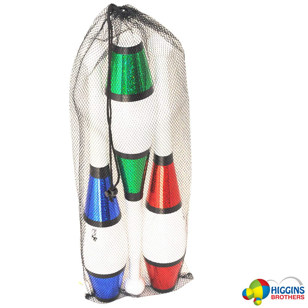 Higgins Brothers Eclipse Juggling Club Set of 3 Blue, Red, Green Colors by Higgins Brothers (Image #4)
