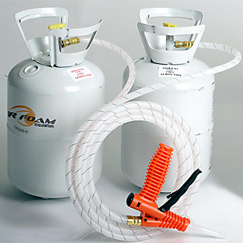 Tiger Foam Quick Cure 200 Bd/Ft Spray Foam Insulation Kit