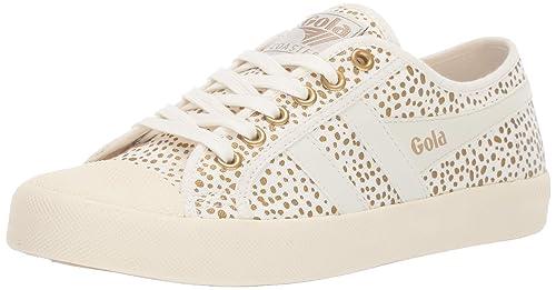 c83c81356691f Amazon.com: Gola Women's's Coaster Metallic Cheetah Trainers: Shoes