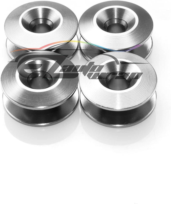 EZAUTOWRAP Black Bumper Quick Release Fasteners for Car Bumpers Trunk Fender Hatch Lids Kit