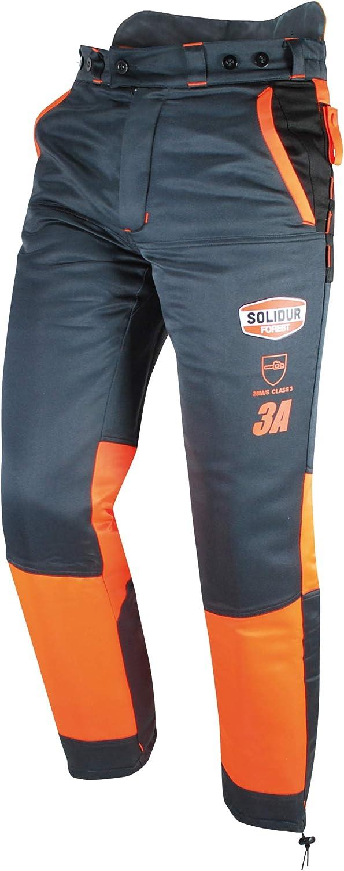Solidur AUPA3A Pantalon Authentic 28 m//s Special tron/çonneuse Protection 9 Couches Type A Classe 3