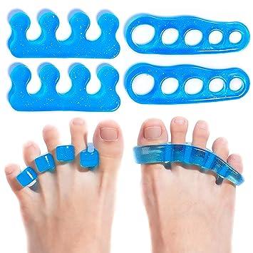 Amazon.com: Separadores de dedos de gel, alisadores y ...