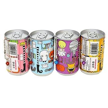 iTemer niedlich Cartoon Cola Dosen wischt Einweg-Gewebe Tragbare Karikatur Wischt/ücher f/ür Kinder