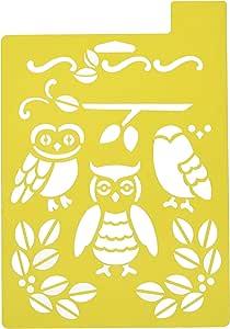 Delta Creative Stencil, 7 by 10-Inch, Owl