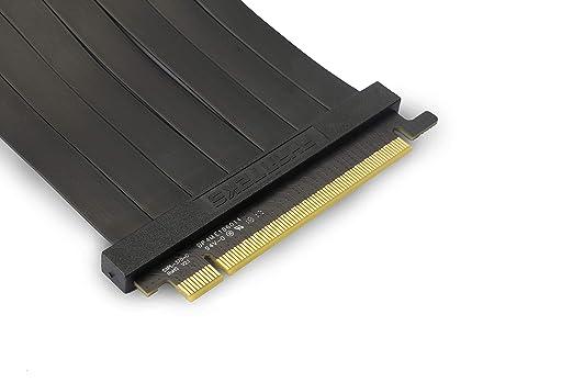 Phanteks PH-CBRS_PR22 - Cable Elevador de Alta Velocidad blindado Premium de 220 mm PCI-E 3.0 x16, Adaptador 90o: Amazon.es: Informática