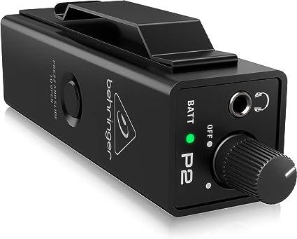 Amazon.com: Behringer P2 Powerplay dentro de oído Monitor de ...