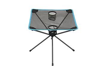 Portal Pop Table - Mesa de camping extremadamente ligera, tabla de camping compacta 48x48x48 cm
