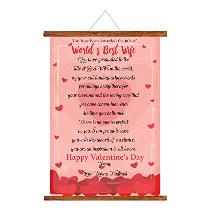 yaya cafe birthday gifts for wife worlds best wife love scroll