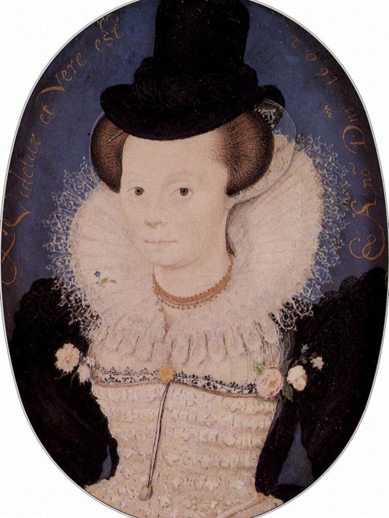 Lais Lais Lais Puzzle Nicholas Hilliard - Porträt einer unbekannten Frau, Oval 2000 Teile 6c4b6b