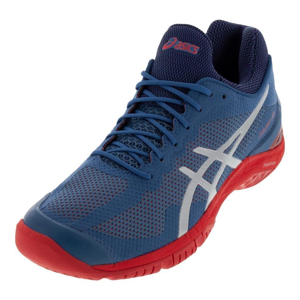 ASICS Gel-Court 9 FF Tennis Shoe B07BL5MTNV 9 Gel-Court M US|Azure/Silver 845128