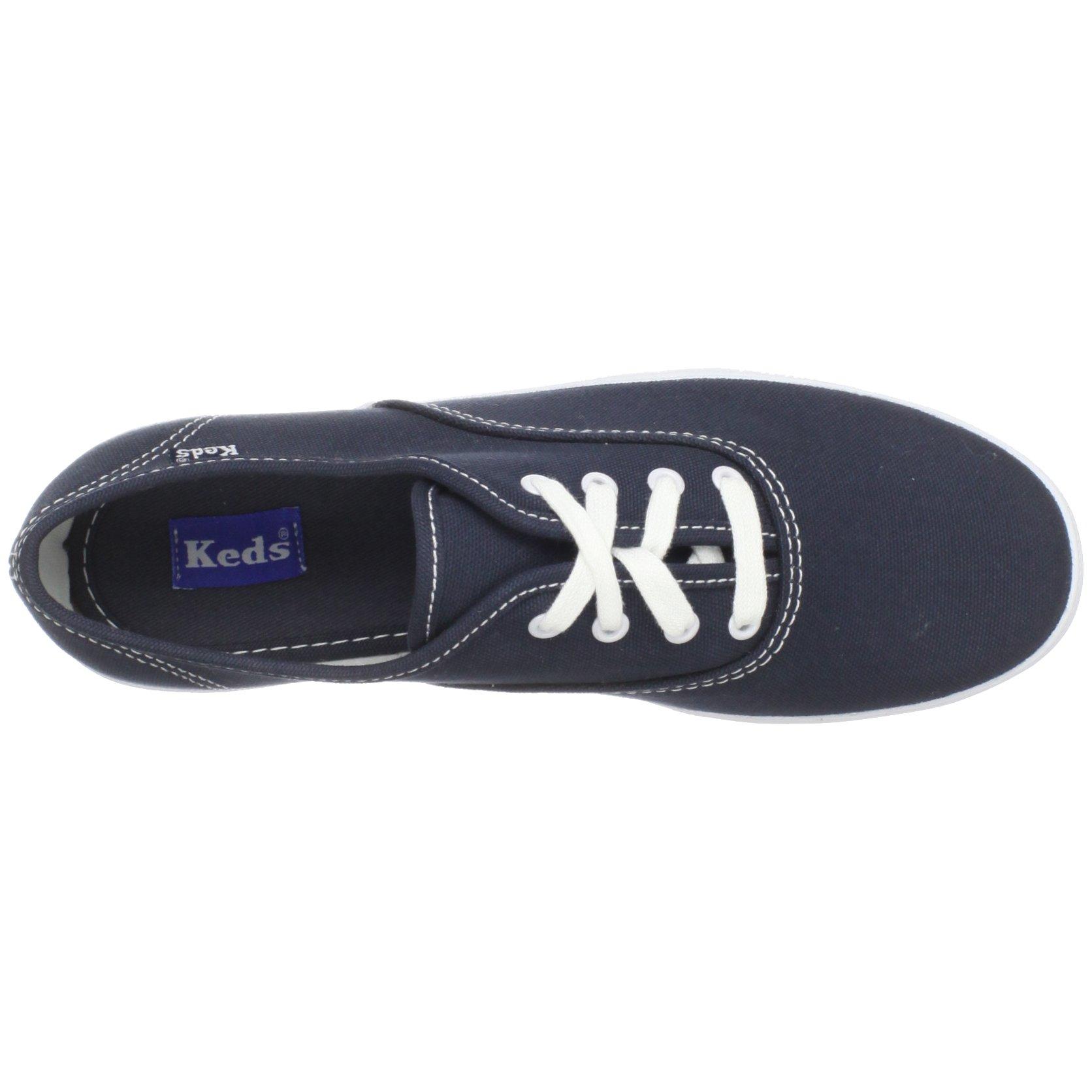 Keds Original Champion CVO Sneaker (Toddler/Little Kid/Big Kid),Navy/White,13.5 M US Little Kid by Keds (Image #7)