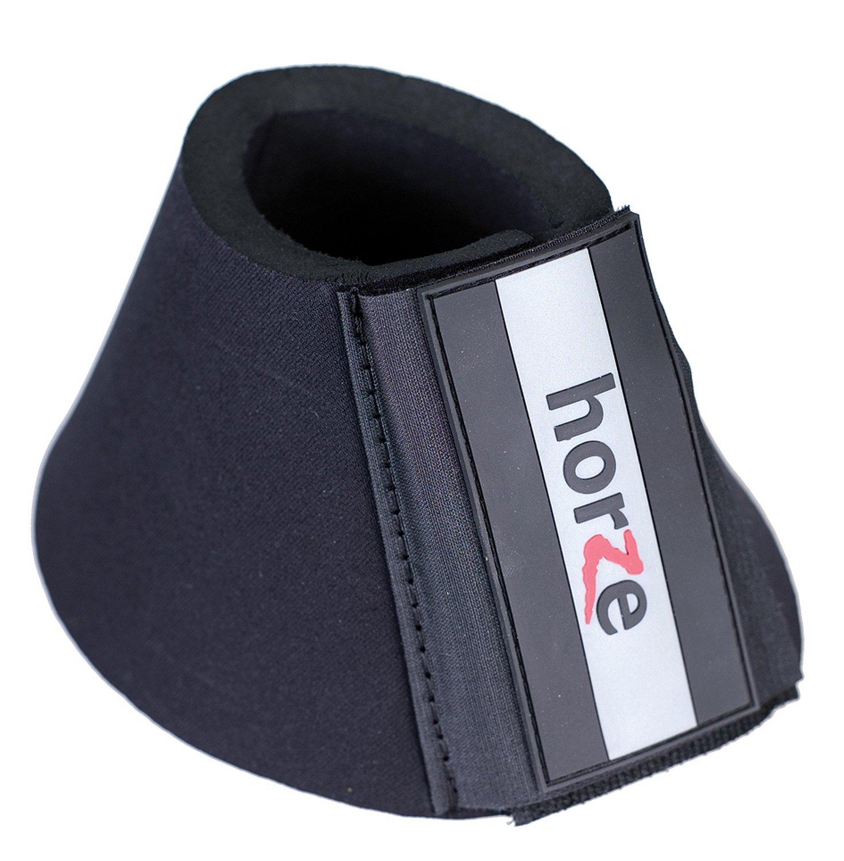 Horze Pro-Bell Neoprene Boots, Black, XL